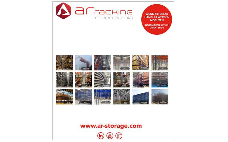 Stand Ar Racking / Grupo Arania en Sttutgart/ Alemania