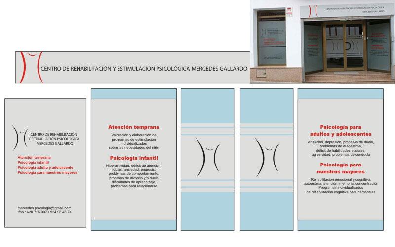Diseño, maquetación y rotulación de escaparate