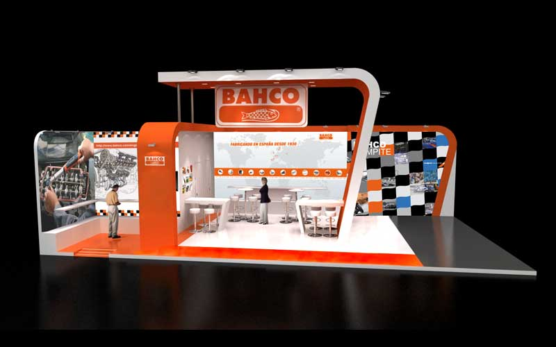 Stand BAHCO Motortec MADRID