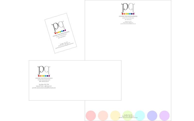 Folio, sobre y tarjeta