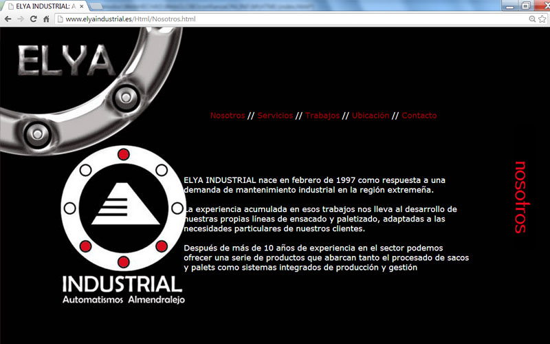 Web Elya Industrial